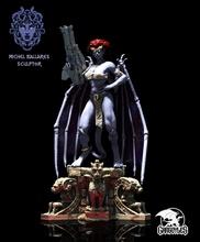 demona gargolyles fan art statue sculpture statue gargoyles demona sword knight fiction monster series woman demon 3dprint fanart fantasy sexy custom art sculptures