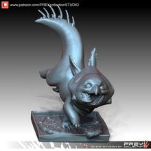 dino animale domestico mutante tmnt carattere supereroe tavolo miniature figurine tartarughe 3dprint stilizzato statua creatura fantasia immaginario scultura Giochi giocattoli arte sculture Giochi giocattoli