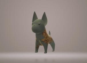 köpek bulldog köpek Sanat hayvan bulldog Şirin heykel doğa heykeller