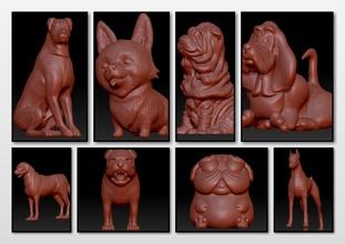 köpekler hayvan Evcil Hayvan minyatürler heykel bulldog köpek Fransızca minyatür oyuncak minyatürler figürinler hayvan heykel memeli Evcil Hayvan heykel doğa şekil sembol Sanat doggypop boksör dogmutt deko Doberman