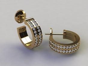 double infinity diamond hoop fashion earring earring earring infinity hoop fashion trend luxury gold dainty antique women female mens large jewelry design vintage earring hoop diamond hoop jewel earrings