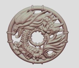 dragon decoration 3d print model dragon dinosaur decoration 3d print model art sculptures