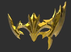 dragon scale mask mask cosplay tera fantasy dragon scale carnival face mmorpg accessory games toys games toys