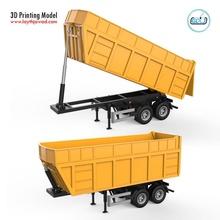 autocarro trailer v1 autocarro ribaltabile azienda agricola trailer militare veicolo macchina pesante caricare camion ruota gigante camion cabina stampabile corpo tamiya settore automobilistico passatempo Fai passatempo Fai
