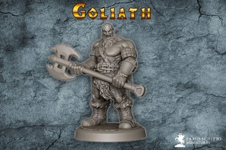 dungeons dragons goliath games-toys miniatures fantasy goliath barbarian dungeons dragons statue dark viking art games toys games toys board board games