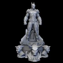 fan arte arkham cavaliere Batman pipistrello uomo Batman cavaliere arte modello scultura statua sculture Gotham buio eroe supereroe comico stampabile crociato dc carattere 3dprint
