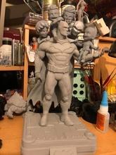 fan arte Batman famiglia Batman eroe comico supereroe pettirosso cartone animato statua modello stampabile pipistrello scultura famiglia arte cappuccio rosso nightwing carattere 3dprint dc sculture