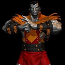 ventilador arte Fénix força colosso Fénix Phoenixforce colosso herói Super heroi quadrinho histórias quadrinhos história quadrinhos impressão escultura impressão arte estátua mutante maravilha mutantes xmen personagem esculturas