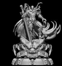 fan arte produrre anti eroe eroe comico i fumetti fumetto supereroe Stampa stampabile scultura statua arte sculture inferno Hellspawn produrre 3dprint