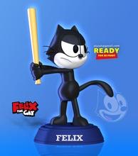 felix gato gato felix animal animal gatinha gatinho Puma fofa 3dpint estátua figura estatueta 3dprinting arte esculturas Garoto criança desenho animado