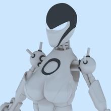 female robot hobby-diy female robot secret female robot secret agent female female robot female robot secret agent spybot model 3d printable silver robotics hobby toy female robot secret agent mechanizm diy machine hobby diy