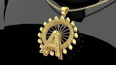 ferris wheel pendant jewelry gold gold silver printable diamond jewel jewellery lion head pendant jewelry print model male gem engagement pendants ferris wheel