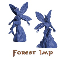 fores imp games-toys gloomhaven gloom haven forest imp fairy dungeon dragons pathfinder boardgame tabletop crosslances sla dlp printable miniature fantasy games toys games toys board board games