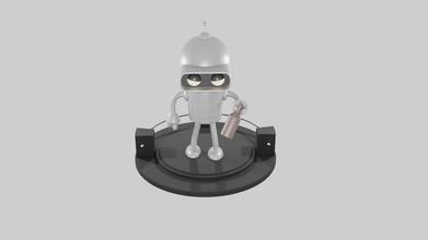 futurama bender robot futurama bender robot meccanico buon mercato scifi 80 scienza finzione pianeta futuristico retrò philip friggere Pizza spazio navicella spaziale casco futuro scanalato Giochi giocattoli Giochi