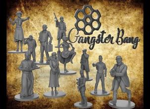 bandit coup collection gangstersbang gangsters personnages lovecraft cthulhu ancien figure homme femme Danseur mauvais garçon Jeux jouets Jeux jouets planche planche Jeux