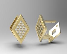 geometric earrings diamonds lucia jewelry geometry rhombus modern fashion trend precious gold silver platinum luxury humble geometric shape abstract hexagonal geometric shape symbol gigi ferranti lucia jewelry earrings