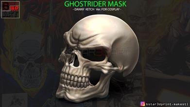 ghost rider mask -danny ketch - marvel comics skull bone horror halloween anatomy scary teeth skull mask ghost rider ghost death helmet cosplay death mask ghost rider head ghost rider mask games toys games toys