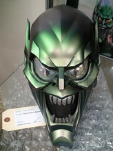 verde duende verde duende hombre araña araña hombre villano maravilla duende verde osborn máscara casco Víspera Santos juegos juguetes juegos juguetes