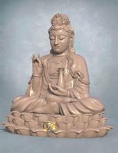 guanyin 3d impressão cnc Buda escultura ouro arte estátua religião antigo cultura têmpora mulher esterlina Deus imprimível prata deco monumento judaico jesu colecionável santuário joalheria