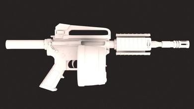 gun xm16e1 game patriot print gun weapon bullet security force defence war games toys games toys game accessories game accessories