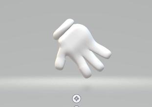 Hand Handschuh Disney Handschuh Hand Mickey Maus Karikatur Cartoonhand Cartoonglove Spiele Spielzeuge Spiele Spielzeuge