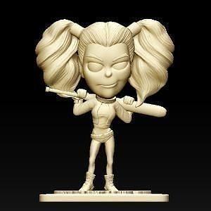Harley Quinn Harley Quinn komik 3dbaskı koleksiyon palyaço oyunlar oyuncaklar oyunlar oyuncaklar