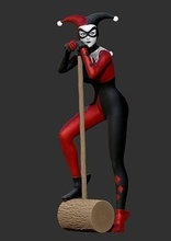 Harley Quinn Harley Quinn dc çizgi roman kötü adam joker batman heykel heykel çizgi roman karikatür karakter bilimkurgu fantezi Sanat heykeller hobi kendin yap hobi kendin yap robotik