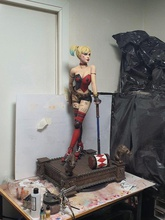 Harley Quinn 3 boyutlu baskı heykel heykel kız seksi vücut 3dbaskı 3d karakter Harley Quinn dc zbrush Maya oyunlar oyuncaklar oyunlar oyuncaklar