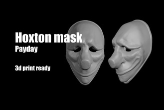 hoxton payday mask helmet payday dallas chains wolf hoxton mask face facemask thief toys marvel man spiderman ironman superman corona protect games games toys helmet other