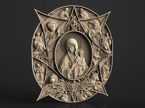 icône mère Dieu bébé Christ icône Dieu Madone Jésus déité statue Christian Bible sculpture religiou objet luthérien orthodoxe cathédrale art moyen signe symbole religiou juif judaïsme