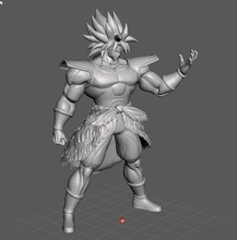 ikari broly dragon ball 3d model ikari broly wrathful super dragon ball saiyan dragonball dbz games toys games toys
