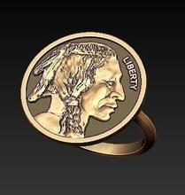 indiano anello gioielli boho di boemia bohochic indiano capo la moneta di antiquariato nativo e tribali totem tiki raider archeologia anello oro argento gioielli libertà tribù anelli