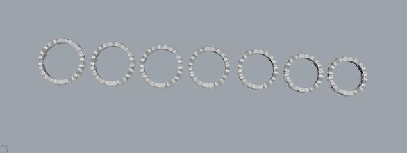 infinite ring infinite ring sizes joia cristal brinco modelo 3d ouro prata art