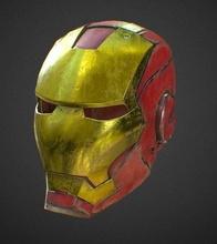 Eisen Helm Kennzeichen Eisen Helm Kennzeichen Metall Rächer Endspiel Tony Stark Cosplay Kapitän Amerika mark85 Spider Peter Parker Hobby DIY Spiele Spielzeuge Spiele Spielzeuge