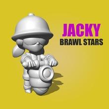 jacky pelearse estrellas pelearse estrellas brawlstars alborotador jacky juegos juguetes juegos juguetes