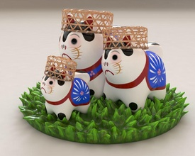 japan maskot inuhariko japan maskot inuhariko toy toys souvenir dog puppy figure figurine statuette art interior decor games games toys