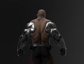 jax mortale kombat iii forza forte muscolo anatomia bodybuilding Giochi giocattoli Giochi giocattoli
