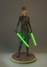Jedi anna escultura espada arte menina adulto mulher corpo cavaleiro estátua Jedi darth Estrela guerras armaduras sabre luz Disney Princesa jogos brinquedos jogos brinquedos