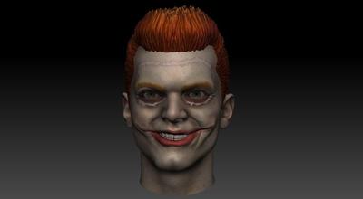 Jerome valeska Jerome valeska Gotham gotica santysem3d burlone guasone ridere risata print3d impresion3d Giochi giocattoli Giochi giocattoli