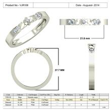 gioielli cad 3d, dei file stl - vjr108 gioielli 3d cad il design diamante disegni 2d badari brillante asfour di boemia Modello 3d Modellazione 3d La stampa 3d Stampato in 3d File cad in 3d La progettazione in 3d Anello 3d anelli di diamanti Anello 3d disegni anello di diamanti gioielli anelli