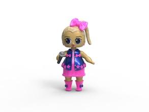 jojo siwa lol poupée jojo siwa lol poupée jouet ressemblance surprise gentil anniversaire fête mga 3d modèle rose bleu microphone Bratz bff mignonne collectionner Jeux jouets