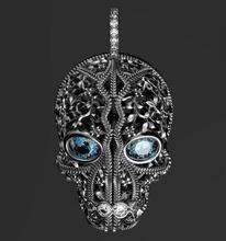 jolly roger pendant ring jewel jolly roger pendant silver gold sterling youth spring mask skull gem luxury jewelry ornate vintag rings