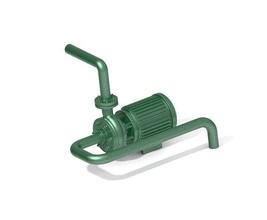 kids engineering - classic borewell pump pump valve pipe tool education mechanical design science fan rotor ventilator turbine vehicle  school toy steel water house plastic engineering