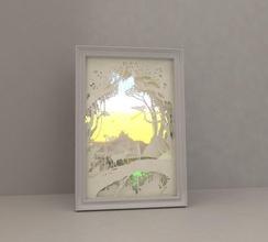 light box - diy papercut light box lightbox shadowbox cut shadow diorama artworks lighting effect crafts art hand layered led hobby diy hobby diy other