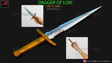 loki dagger 2021 - high quality - weapon loki - tv series loki dagger weapon  tv series 2021 high quality blades knife cosplay accessories figure sword bladed blade loki dagger 2021 loki blades 2021 loki 2021 games toys games toys