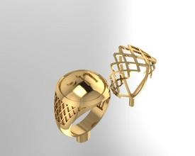 man ring enamel symbol life hebrew platinum jewelry luxury accessory silver diamond ring sterling fashion gold rings