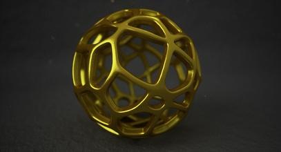 math object 0082 art sphere shape ball abstract voronoi voronoi sphere voronoi ball voronoi shape mathematical geometric geometrical mathart math model geometric shape math object printable 3dprint art mathematical art