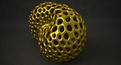 math object 0083 art voronoi voronoi pattern voronoi object voronoi shape klein bottle klein surface shape art design science sculpture geometric geometric art printable 3dprint 3d printable mathematical mathematical art