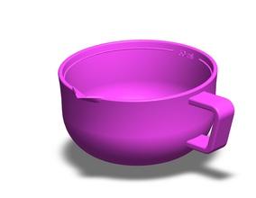 ölçme araç Ses 3d Yazdır model ölçü sıvı toplu malzemeler ciltler ölçek 3dprinting mililitre çay kaşığı yemek kaşığı ağırlıklar Ses Bilim
