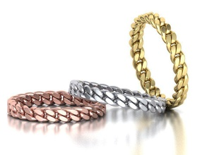 miami cuban link chain ring stackble ring jewelry chain chain ring cuba ring cuban link chain links fashion ring women ring band ring stackble ring cuban chain usa canada ringforher uk printable ring wax gold luxury rings